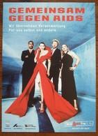 Gegen AIDS - Carte Postale - Salud