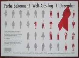 Welt AIDS Tag Carte Postale - Salud