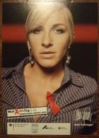 Wlet Aids Tag Gegen AIDS Carte Postale - Salud