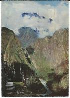 Peru Postcard - Machu Picchu 1970 - Nice Stamp Motive -  Airmail - Human Rights Year - Peru