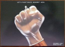 Let's Fight Back Against Aids Carte Postale - Salud
