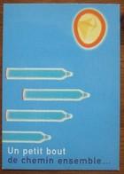 Use Condom AGAINST AIDS Carte Postale - Salud