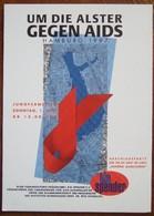 Gegen AIDS Carte Postale - Salud