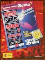 Condom Gegen AIDS Carte Postale - Salud