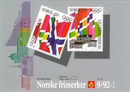 Norway 1992 In Folder Olympic Games Lillehammer 1994 *** MNH - Winter 1994: Lillehammer