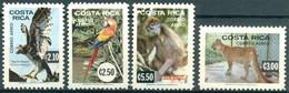 Costa Rica - 1981 - Yt PA 802/805 - Animaux En Voie De Disparition - ** - Costa Rica