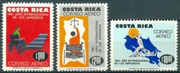 Costa Rica - 1981 - Yt PA 835/837 - Année Int. Des Personnes Handicapées - ** - Costa Rica