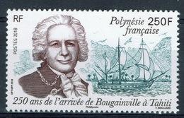 French Polynesia, L-A De Bougainville, Arrival In Tahiti, 2018, MNH VF - French Polynesia