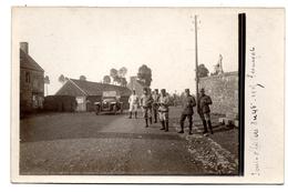 Carte Photo  Plouagat 46 ème Regiment Voiture Ancienne 14-18 - Autres Communes