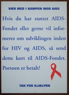 Against AIDS Carte Postale - Salud