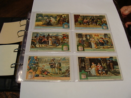 Liebig Serie Complete Langue Italienne S 1191 Cyrano De Bergerac - Liebig