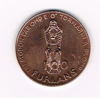 &   ITALIE  GETTONE  100 FURLANS  1077 - 1977 NASCITE  DE PATRIE DAL FRIUL - Professionnels/De Société