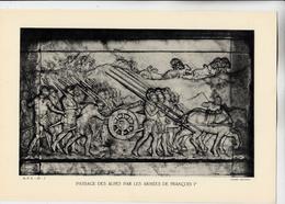 PLANCHE HISTOIRE DU PEUPLE FRANCAIS PASSAGE DES ALPES PAR LES ARMEES DE FRANCOIS IER - Planches & Plans Techniques