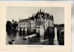 PLANCHE HISTOIRE DU PEUPLE FRANCAIS CHATEAU DE CHENONCEAUX - Planches & Plans Techniques