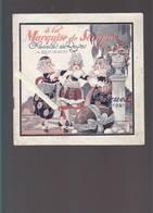 Marquise De Sévigné, Chocolat De Royat - Catalogue Paques 1921 - Boites Publicitaires - 10 Pages 18 X 18 Cm - Advertising