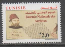 TUNISIA , 2017, MNH, NATIONAL ARCHIVES DAY, 1v - Stamps