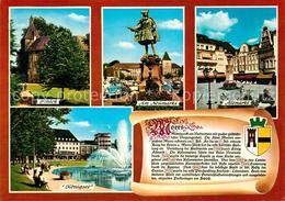 73216679 Moers Schloss Neumarkt Altmarkt Koenigsee Chronik Moers - Deutschland