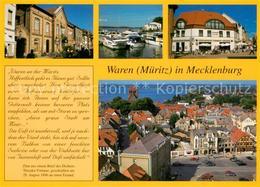73217068 Waren_Mueritz Hafen Stadtansichten Waren Mueritz - Waren (Mueritz)