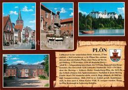 73181734 Ploen_See Klosterstrasse Luebecker Strasse Kirche Schloss Schwentinehau - Ploen