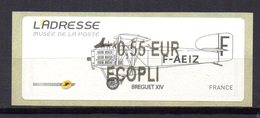Vignette LISA  // L'adresse  // Paris 2010 - 2010-... Abgebildete Automatenmarke