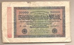 Germania - Banconota Circolata Da 20.000 Marchi P-85a/2 - 1923 - 20000 Mark