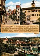 73183142 Gundelsheim_Neckar Schlossstrasse Schloss Horneck Stadtbild Mit Neckars - Duitsland