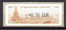 Vignette LISA  // Salon Du Timbre  // Paris 2010 - 2010-... Illustrated Franking Labels
