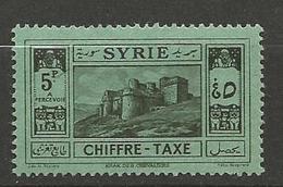 SYRIE TAXE  N° 36 NEUF* TRACE DE CHARNIERE TB / MH - Portomarken