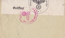 Lettre München Censure Geöffnet Oberkommando Wehrmacht Eduard Klinger Allemagne Anvers Antwerpen Belgique WW2 - Duitsland