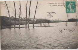 CPA 95 PARMAIN La Plaine à Jouy Le Comte Crue De L'Oise 1910 - Parmain