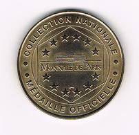 &  FRANKRIJK  MEDAILLE  TOMBEAU DE NAPOLEON - DOME DES INVALIDES - MEDAILLE OFFICIELE - MONNAIE DE PARIS - Tourist