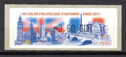 Vignette LISA  // 65e Salon D'automne // Paris 2011 - 2010-... Abgebildete Automatenmarke