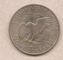 USA - Moneta Circolata Da 1 Dollaro - 1971 - Emissioni Federali