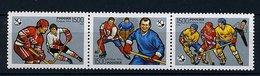 Russie** N° 6224 à 6226 -  Hockey Sur Glace - 1992-.... Federazione