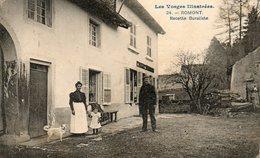CPA - ROMONT (88) - Aspect Du Quartier De La Recette Buraliste En 1911 - Francia