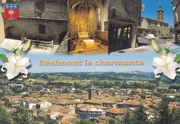 81  REALMONT LA CHARMANTE / MULTIVUES / BLASON - Realmont