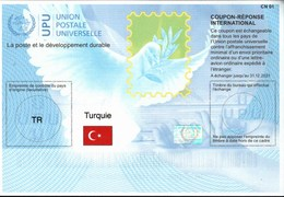 ! New International Reply Coupons, Coupon Reponse, Internationale Antwortscheine, UPU, Weltpostverein - 1921-... Repubblica