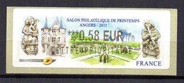 Vignette LISA  // Salon De Printemps  // Angers 2011 - 2010-... Illustrated Franking Labels