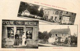 CPA - RAVES (88) - Aspect Du Tabac, Des Postes Et Du Restaurant Maimbourg En 1907 - Carte Multi-Vues - Francia