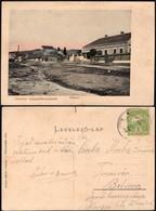 Romania - Sândominic, Piata / Csíkszentdomokos, Piactér, Transilvania. Harghita. 1915. - Rumänien