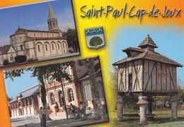 81  SAINT PAUL CAP DE JOUX / MULTIVUES S/ PIGEONNIER / BLASON - Saint Paul Cap De Joux