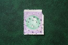 Koning Willem III  2,50 Gld NVPH 16 1872 1870-1888 Gestempeld / Used NEDERLAND INDIE / DUTCH INDIES - Indes Néerlandaises