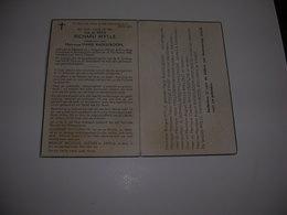 Bidprentje Richard Mylle (Bekegem 1896-Ramskapelle -a-IJzer 1954)xRaekelboom - Devotion Images