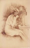 Gravure Maurice Millière Collection Déshabillés Parisiens 1920 Libr.de L'estampe Paris, Femme, Nu, Miroir, érotisme - Prints & Engravings