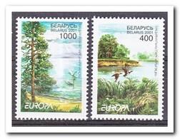 Wit Rusland 2001, Postfris MNH, Trees, Birds, Nature, Europe - Wit-Rusland