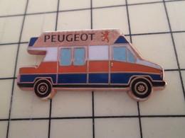 Pin1012B Pin's Pins : BEAU ET RARE :  AUTOMOBILES / CAMIONETTE PEUGEOT Par METARGENT - Peugeot