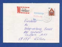 BRD - R-Brief, Einschreiben - SPEYER - Storia Postale