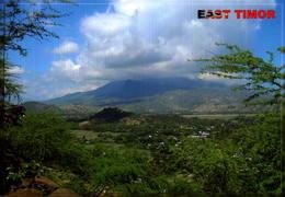 TIMOR LESTE,  VIEW OF THE HIGHEST RAMELAU MOUNTINS  [40608] - Timor Orientale