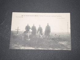 CARTE POSTALE - Militaria - Tombes Françaises Sur La Route De Varredes. - L 16094 - Guerre 1914-18