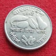Bangladesh 25 Poisha 1979 KM# 8 Fao F.a.o. Lt 726  Bangladeche - Bangladesh